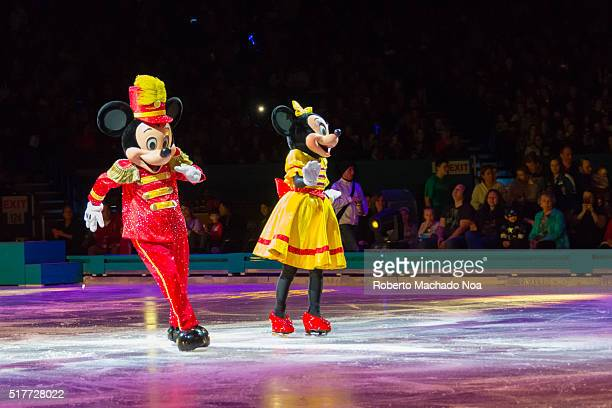 CENTRE TORONTO ONTARIO CANADA Mickey MouseDisney on Ice celebrates 100 hundred years of magic The famous Disney characters and stories are brought to...