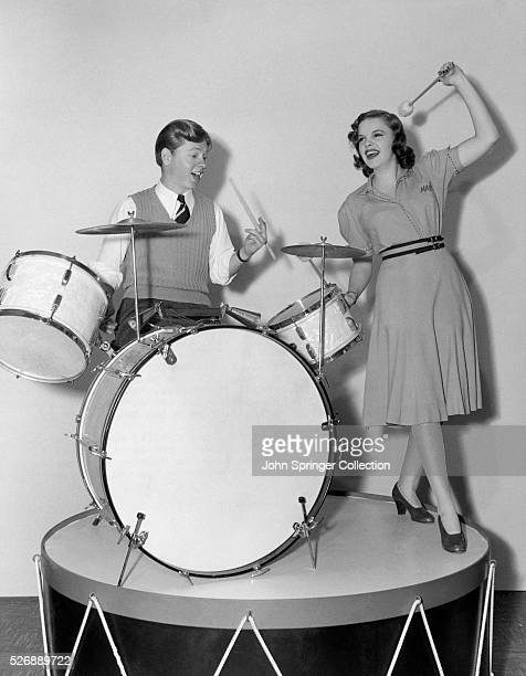 Mickey Rooney and Judy Garland stars of Babes in Arms star in the MGM musical Strike Up the Band With songs like Our Love Affair Nobody Drummer Boy...