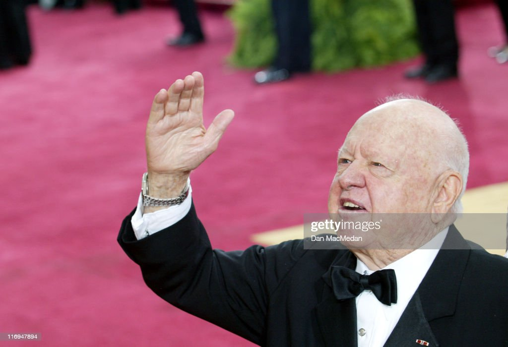 Mickey Rooney during The 75th Annual Academy Awards - Arrivals at The Kodak Theater in Hollywood, California, United States.