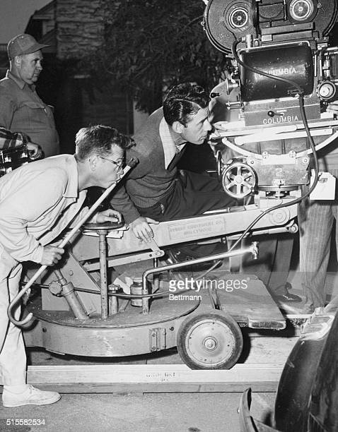 Mickey Rooney is seen directing a movie Rooney had always wanted to direct and he finally got wish here in 1951