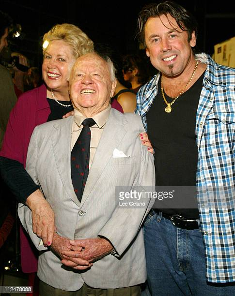 Mickey Rooney wife January and son Chris during Hollywood Film Festival Screening of The Human Stain Red Carpet at Arclight Cinemas in Hollywood...