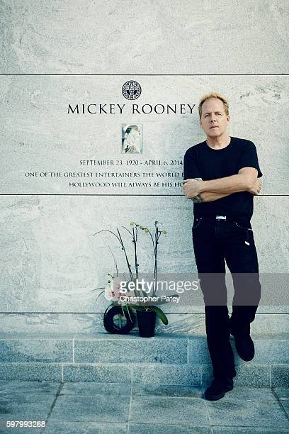 Mickey Rooney's son Mark Rooney is photographed for The Hollywood Reporter on October 7 2015 in Los Angeles CaliforniaPublished Image