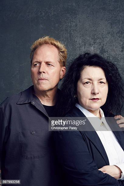 Mickey Rooney's son Mark Rooney is photographed with his wife Charlene Rooney for The Hollywood Reporter on October 7 2015 in Los Angeles...