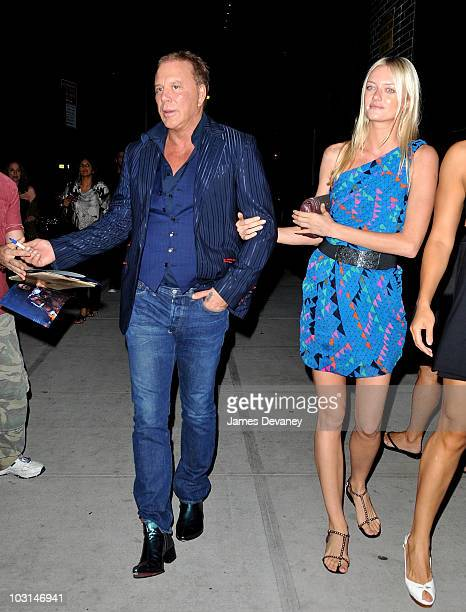 Mickey Rourke and guest seen on the streets of Manhattan on July 28 2010 in New York City