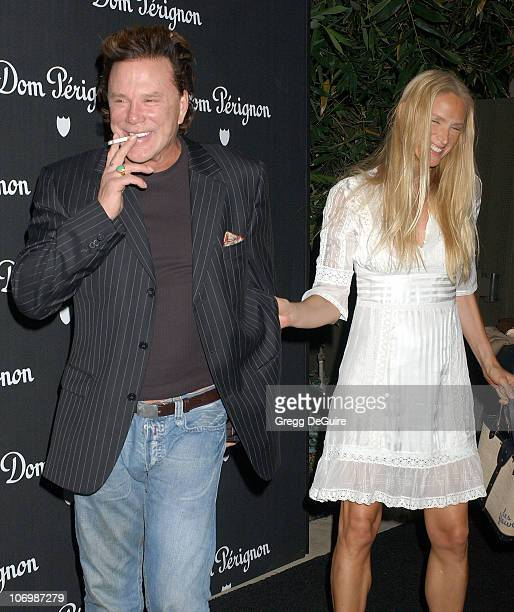 Mickey Rourke and Kelly Lynch during Dom Perignon Karl Lagerfeld and Eva Herzigova Host An International Launch To Unveil The New Image Of Dom...