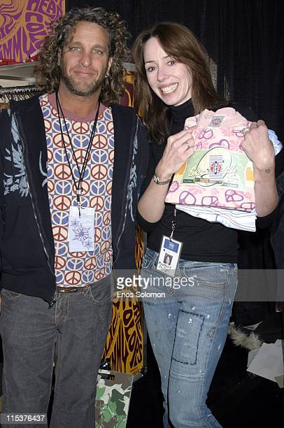 Mickey Sills founder of Scanty Clothing with Mackenzie Phillips with *EXCLUSIVE*