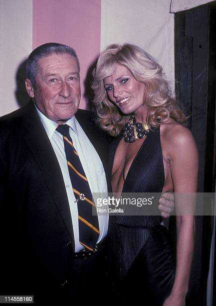 Mickey Spillane and Randi Brooks during Wrap Party for the Film 'Murder Me Murder You' at Ma Maison Restaurant in Beverly Hills California United...