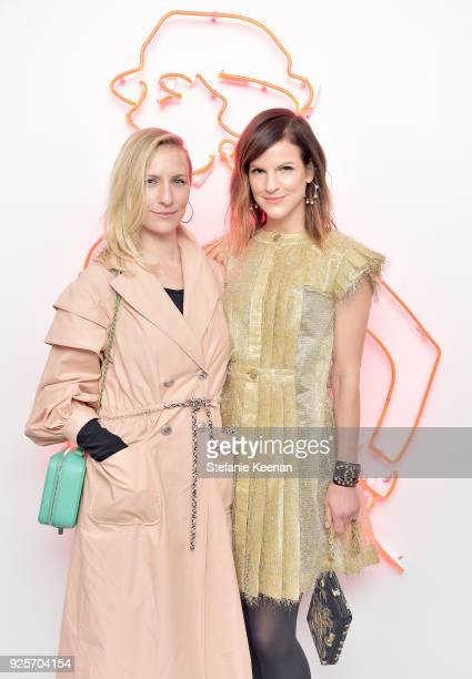 Mickey Sumner and Fuchsia Sumner both wearing Chanel attend a Chanel Party to Celebrate the Chanel Beauty House and @WELOVECOCO at Chanel Beauty...