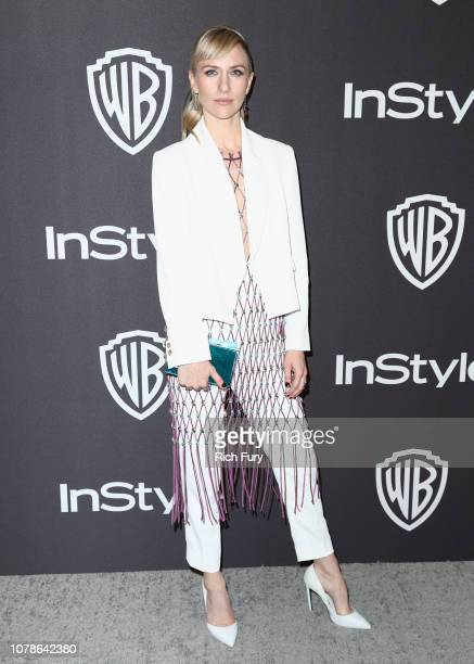 Mickey Sumner attends the InStyle And Warner Bros Golden Globes After Party 2019 at The Beverly Hilton Hotel on January 6 2019 in Beverly Hills...