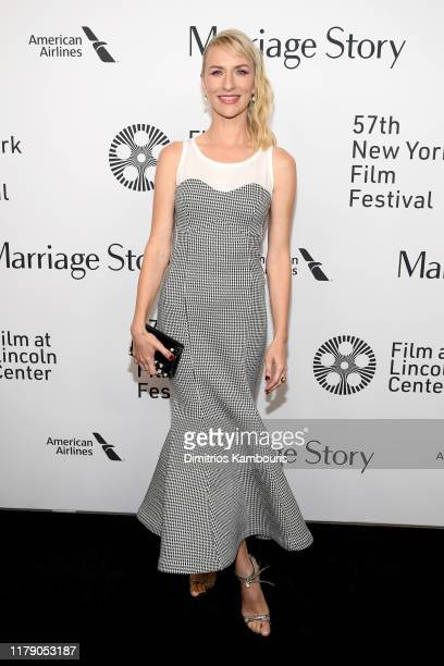 Mickey Sumner attends the Marriage Story premiere at 57th New York Film Festival on October 04 2019 in New York City