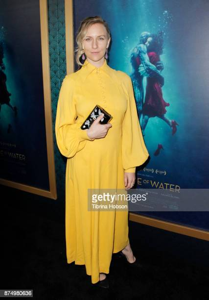 Mickey Sumner attends the premiere of 'The Shape Of Water' at Academy Of Motion Picture Arts And Sciences on November 15 2017 in Los Angeles...
