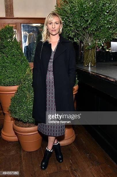 Mickey Sumner attends Through Her Lens The Tribeca Chanel Women's Filmmaker Program luncheon at Locanda Verde on October 26 2015 in New York City