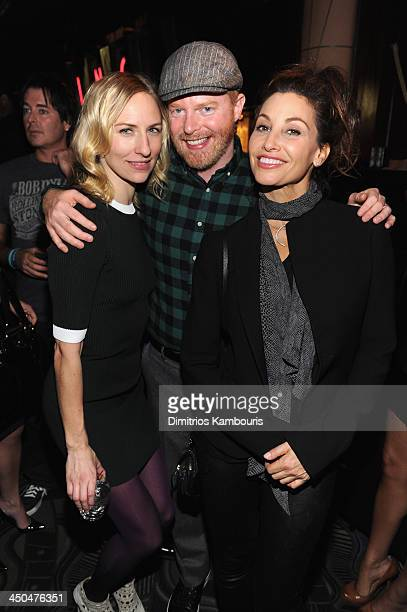 Mickey Sumner Jesse Tyler Ferguson and Gina Gershon attend Montblanc Presents The 13th Annual 24 Hour Plays On Broadway After Party at BB King Blues...