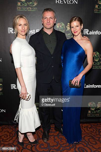 Mickey Sumner Joe Sumner and Fuchsia Sumner attend the after party for the 25th Anniversary concert for the Rainforest Fund at the Mandarin Oriental...