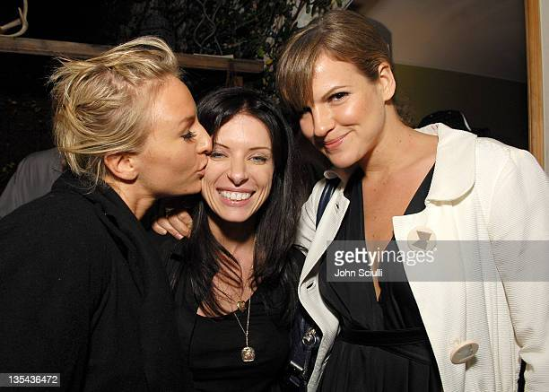 Mickey Sumner Joey Tierney and Kate Sumner during Gran Centenario Toasts Joey Tierney's Fall 2007 Collection at Private Residence in Beverly Hills...