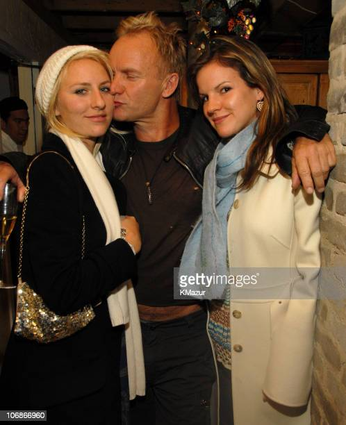 Mickey Sumner Sting and Kate Sumner **EXCLUSIVE**