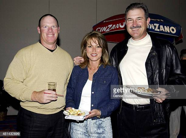 Mickey Tettleton Liz Rhoden and Rick Rhoden at the Las Vegas Celebrity Golf Classic Pairings Party and Auction to benefit Project Sunshine a...