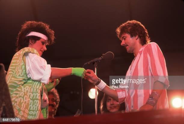 Mickey Thomas and Grace Slick of the Jefferson Starship New York September 8 1984