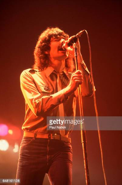 Mickey Thomas of the Jefferson Starship at the Aragon Ballroom in Chicago Illinois December 1 1979