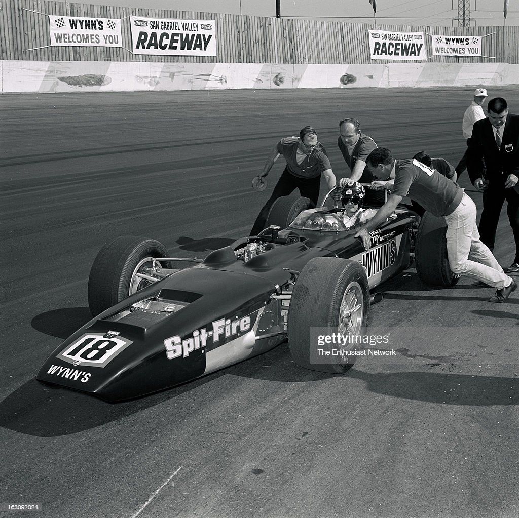 Mickey Thompson's Wynns Indy Car For 1967 Built By