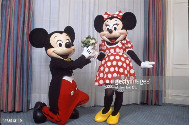 Mickey und Minnie Mouse 1991