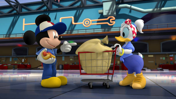 """CA: Disney Junior's """"Mickey Mouse and the Roadster Racers"""" - Season Two"""