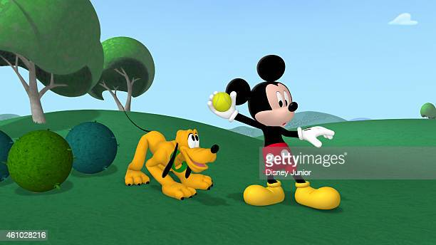 CLUBHOUSE 'Mickey's Happy Mousekeday' It's Mickey's birthday and for his birthday present the Clubhouse gang has organized fun activities for the big...