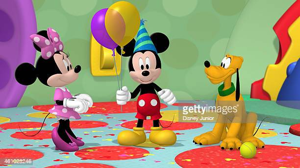 CLUBHOUSE Mickey's Happy Mousekeday It's Mickey's birthday and for his birthday present the Clubhouse gang has organized fun activities for the big...