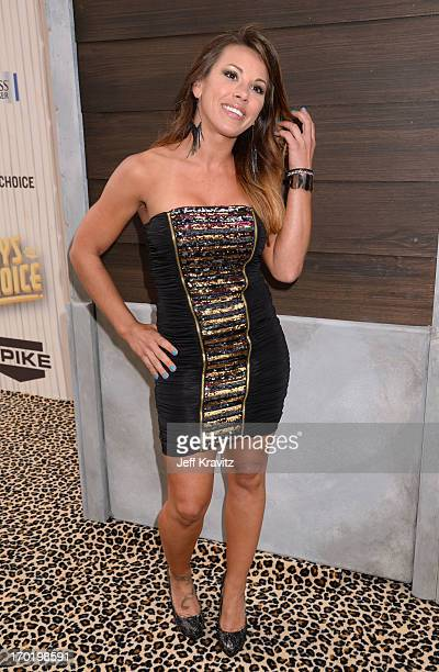 Mickie James attends Spike TV's Guys Choice 2013 at Sony Pictures Studios on June 8 2013 in Culver City California