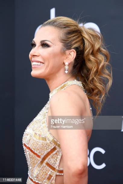 Mickie James attends the 2019 Billboard Music Awards at MGM Grand Garden Arena on May 01 2019 in Las Vegas Nevada