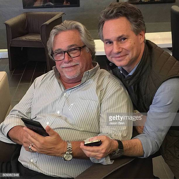 Micky Arison and Jason Binn circa December 2015 in Miami Florida