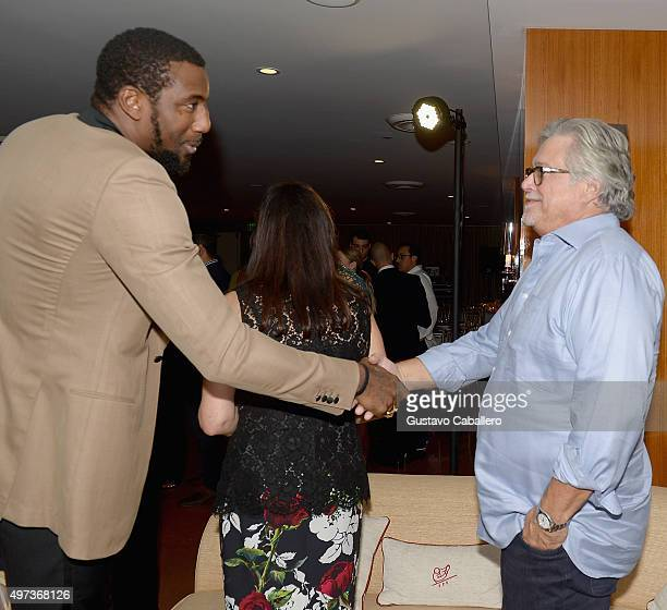 Micky Arison attends the Haute Living Celebrates Amar'e Stoudemire's Birthday at Cipriani Downtown Miami on November 15 2015 in Miami Florida