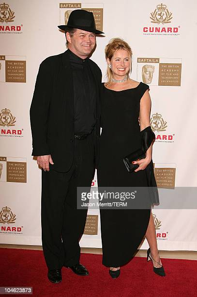 Micky Dolenz and Ami Dolenz during 2005 BAFTA/LA Cunard Britannia Awards Arrivals at Beverly Hilton Hotel in Beverly Hills California United States