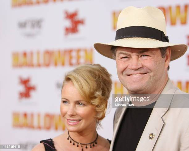Micky Dolenz and daughter Ami Dolenz arrives at the 'Halloween' Los Angeles Premiere at Grauman's Chinese Theater on August 23 2007 in Hollywood...