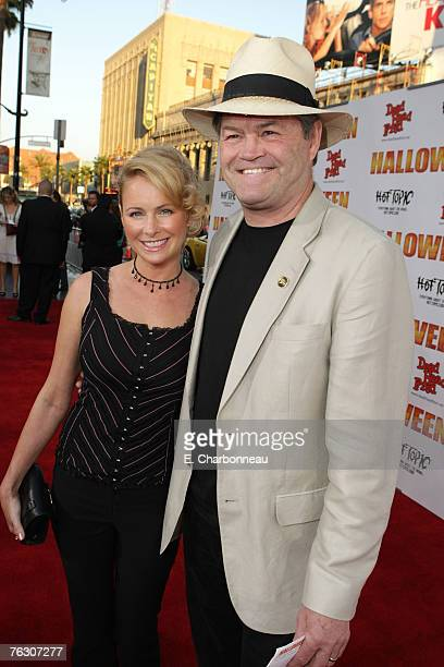 Micky Dolenz and daughter Ami Dolenz at the world premiere of Halloween at Grauman's Chinese Theatre on August 23 2007 in Hollywood California