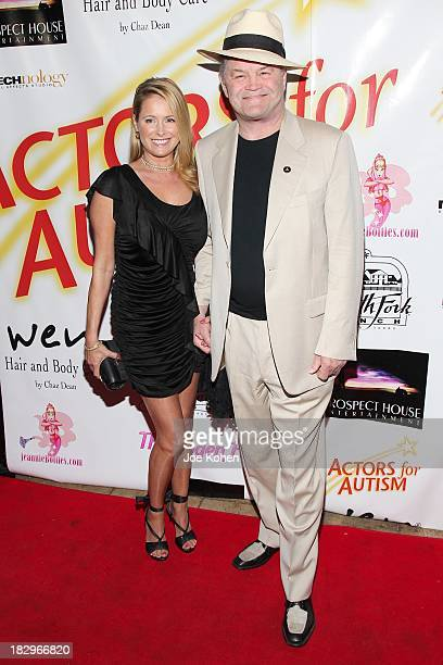 Micky Dolenz and daughter Ami Dolenz attend Actors For Autism presents reach for the stars Honoring Joe Mantegna at Rockwell on October 2 2013 in Los...