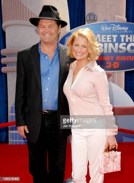Micky Dolenz and daughter Ami Dolenz during 'Meet The Robinsons' Los Angeles Premiere Arrivals at El Capitan Theater in Hollywood California United...