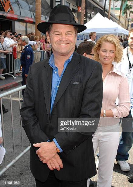 Micky Dolenz and daughter Ami Dolenz during 'Meet The Robinsons' Los Angeles Premiere Red Carpet at El Capitan Theatre in Hollywood California United...