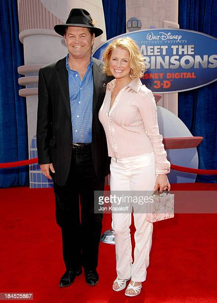 Micky Dolenz and daughter Ami Dolenz during Meet The Robinsons Los Angeles Premiere Arrivals at El Capitan Theater in Hollywood California United...
