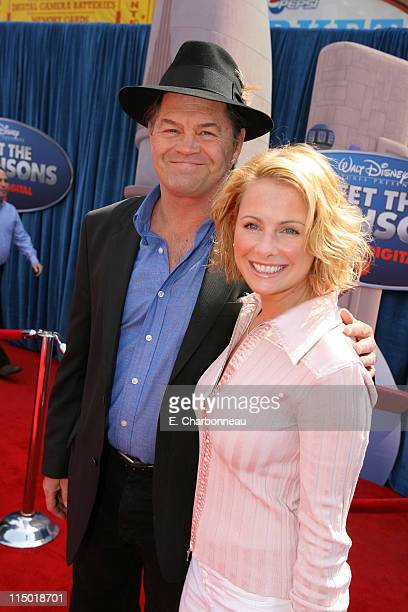Micky Dolenz and daughter Ami Dolenz during The World Premiere of Walt Disney Pictures' Meet The Robinsons at El Capitan Theatre in Los Angeles CA...