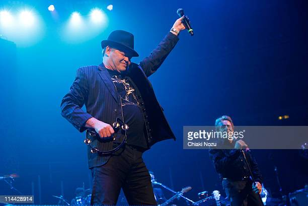 Micky Dolenz and Davy Jones of The Monkees performs at Royal Albert Hall on May 19 2011 in London England