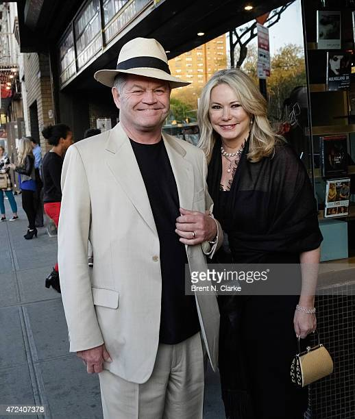 Micky Dolenz and Donna Quinter arrive for the New York Premiere of IFC Film's The D Train hosted by The Cinema Society and Banana Boat held at the...