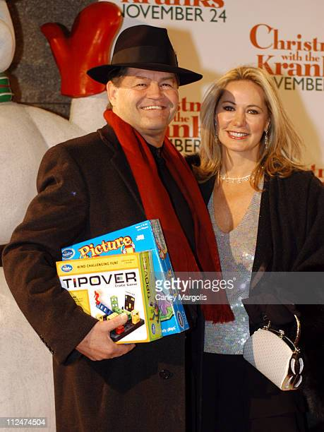 Micky Dolenz and Donna Quinter during Christmas with the Kranks New York Premiere at Radio City Music Hall in New York City New York United States