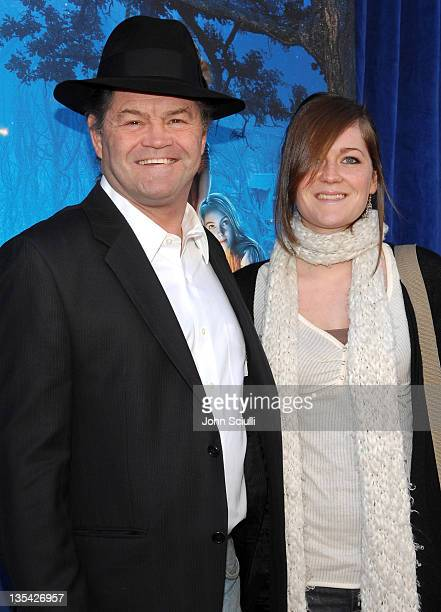 Micky Dolenz and his daughter Georgia during Bridge to Terabithia Los Angeles Premiere Arrivals at El Capitan Theater in Hollywood California United...