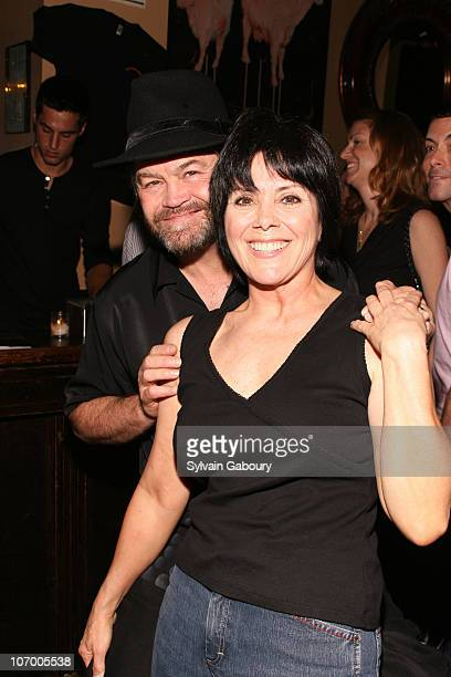 Micky Dolenz and Joyce DeWitt during 14th Annual Rockers on Broadway at The Cutting Room in New York NY United States