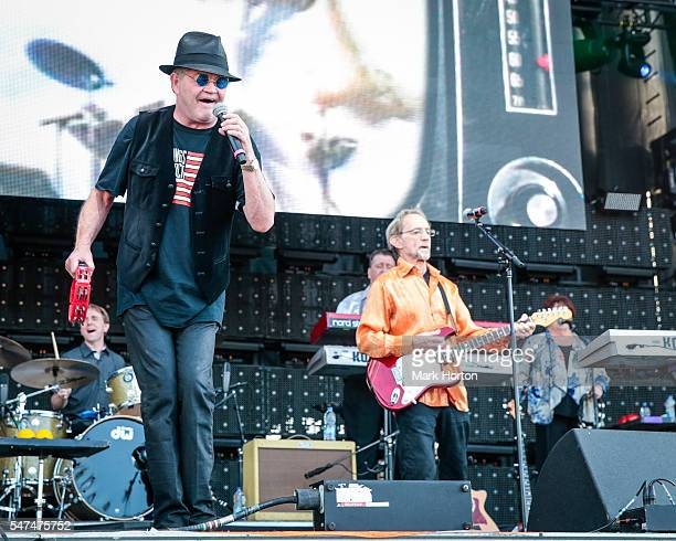 Micky Dolenz and Peter Tork perform with The Monkees on Day 6 of the RBC Bluesfest on July 14 2016 in Ottawa Canada