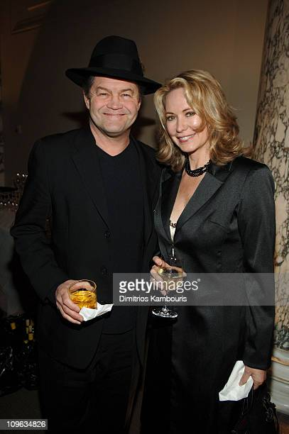 Micky Dolenz and wife Donna Quinter during 4th Annual Tribeca Film Festival All We Are Saying Premiere After Party Hosted by W Union Square at W...