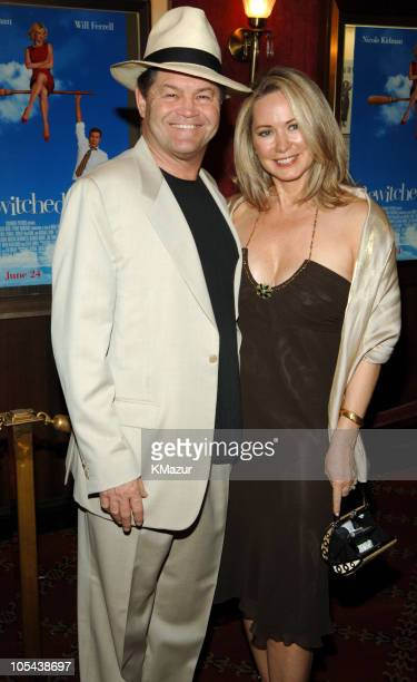 Micky Dolenz and wife Donna Quinter during Bewitched New York Premiere Arrivals at Ziegfeld Theatre in New York City New York United States