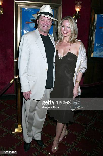 Micky Dolenz and wife Donna Quinter during Bewitched New York City Premiere Inside Arrivals at Ziegfeld Theater in New York City New York United...