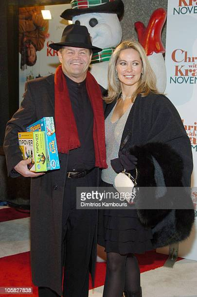 Micky Dolenz and wife Donna Quinter during Christmas with the Kranks New York City Premiere Arrivals at Radio City Music Hall in New York City New...